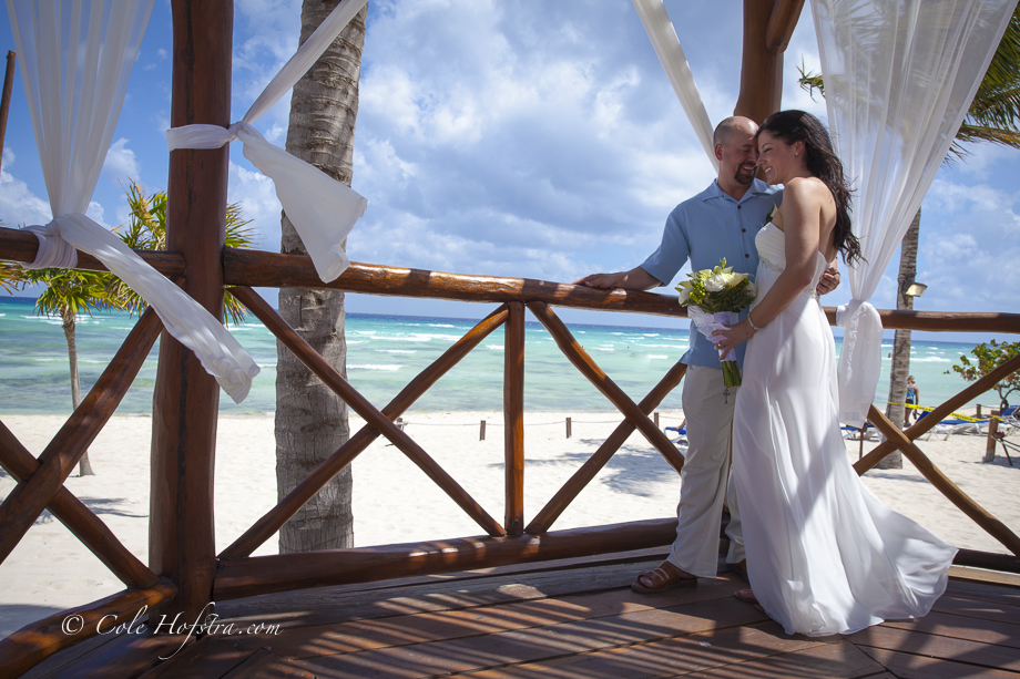 Destination wedding photographer, cole hofstra, cancun, mexico, destination, wedding, bride, groom