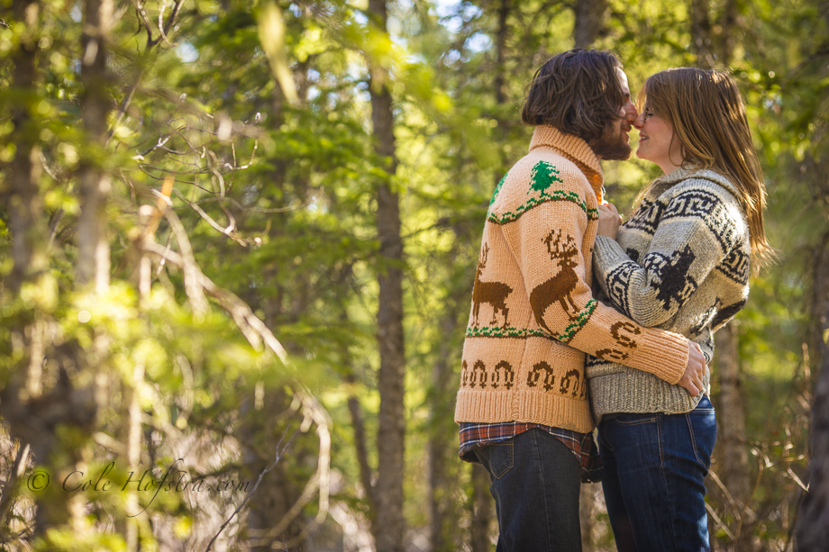 Engagement in Canmore,Calgary wedding photographer Cole Hofstra, Engagement session Nordegg, WILDERNESS outdoor, tree, river,love, passion, happy puppy, sky, cole hofstra photography, hofstra