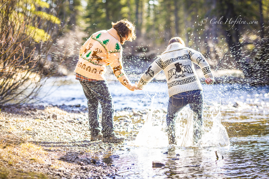 Corprate Photography Cole HofstraCalgary wedding photographer Cole Hofstra, Engagement session Nordegg, WILDERNESS outdoor, tree, river,love, passion, happy puppy, sky, cole hofstra photography, hofstra