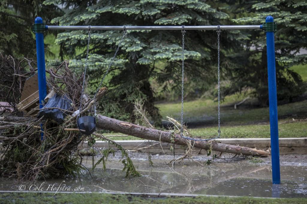 Cole Hofstra captures Flood in mission