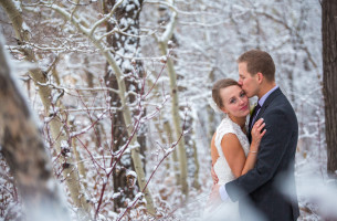 Edmonton Winter Wedding