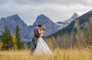 Canmore Fall Wedding