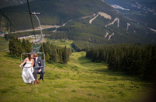 Mt Norquay Wedding