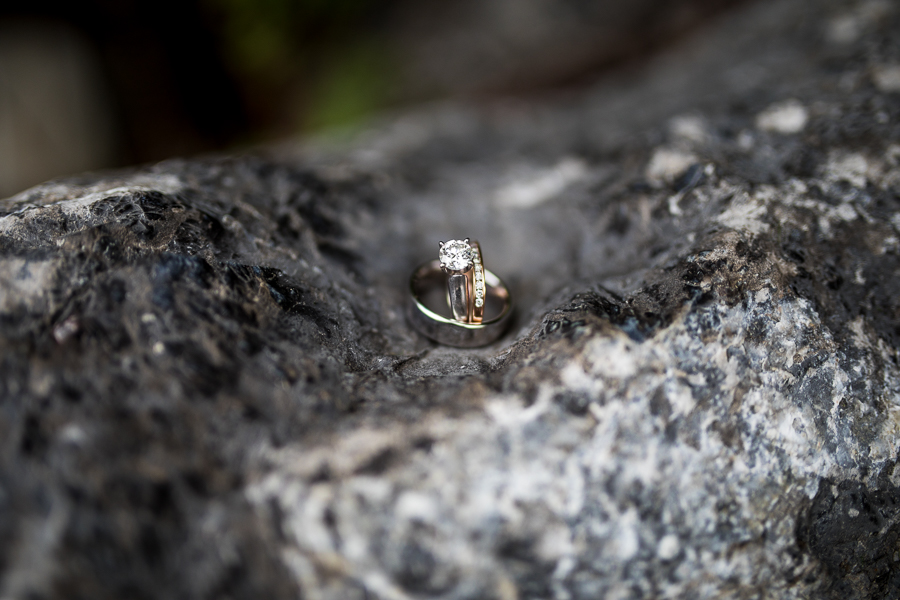 ring shots on rocks, ring detail shots, with texture