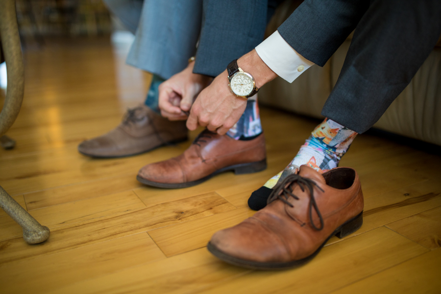 good luck socks, wedding shoes