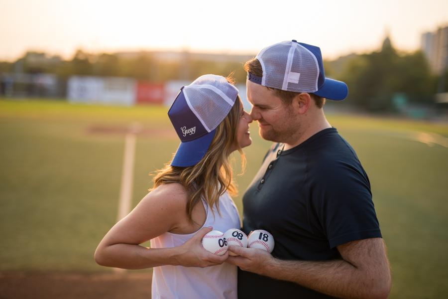 yeg engagement, baseball, baseball engagement, yeg baseball, baseball love, yeg, edmonton, edmonton engagement photography, hofstra, hofstra image
