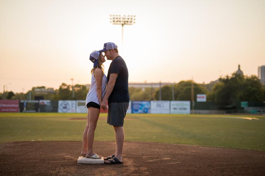 yeg engagement, baseball, baseball engagement, yeg baseball, baseball love, yeg, edmonton, edmonton engagement photography, hofstra, hofstra image, playing baseball