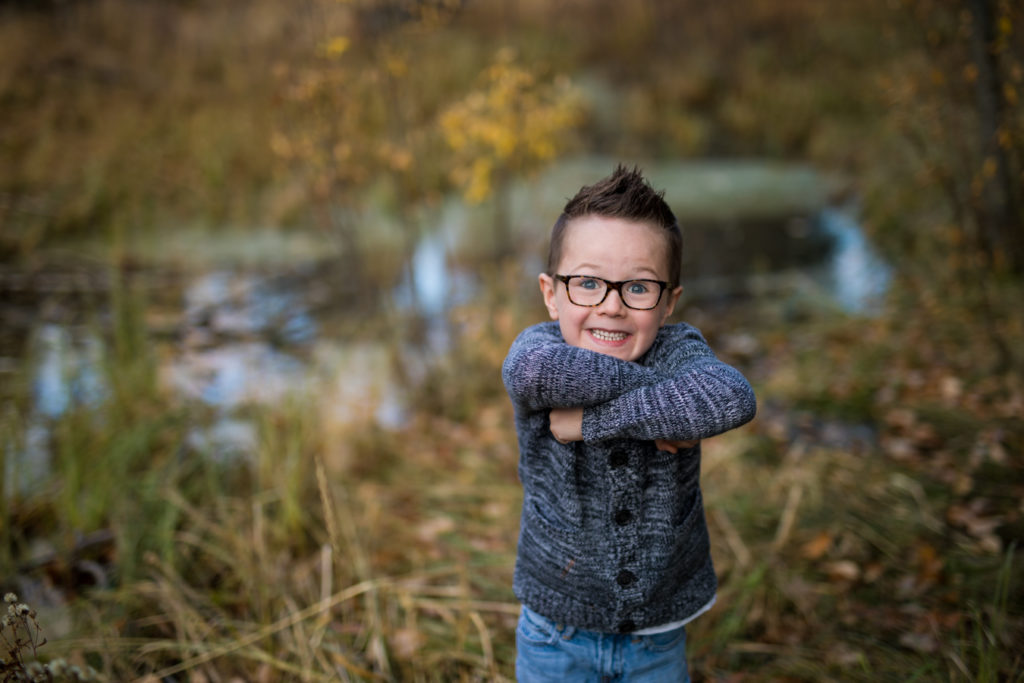 Fish creek family session in Calgary Alberta
