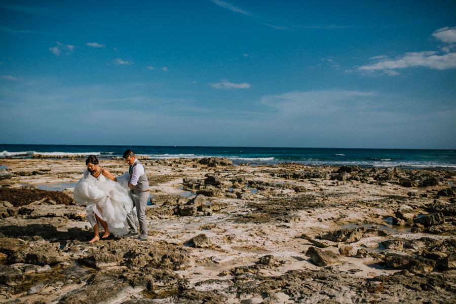 barcelo maya caribe, wedding portraits