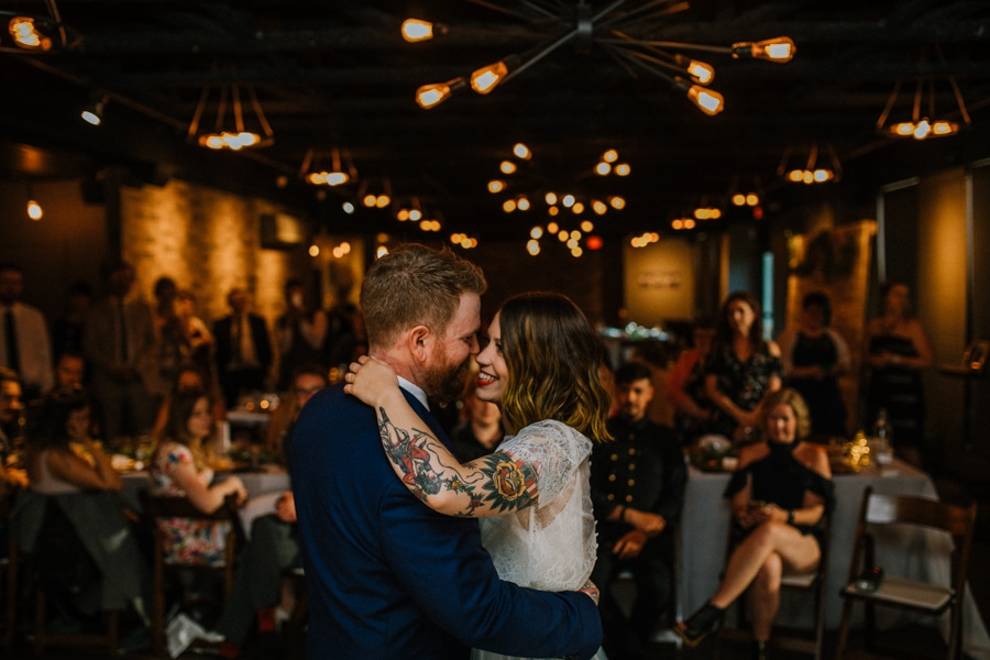 first dance ideas at the Baron event venue