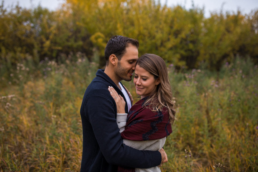 Fish creek engagement session in Calgary alberta