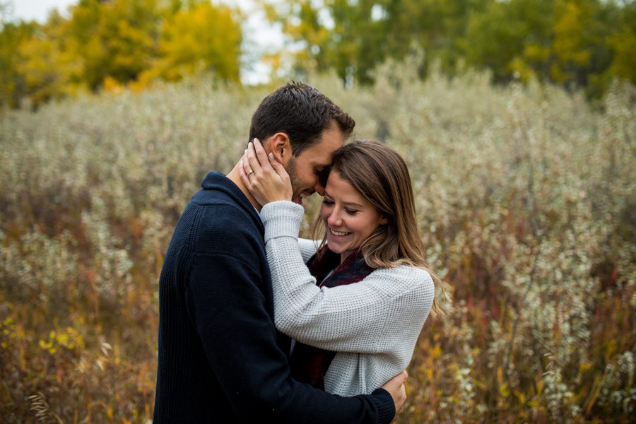 Fish creek engagement photography