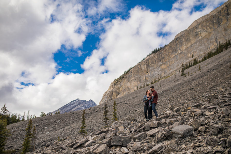 amazing kananaskis engagement photos