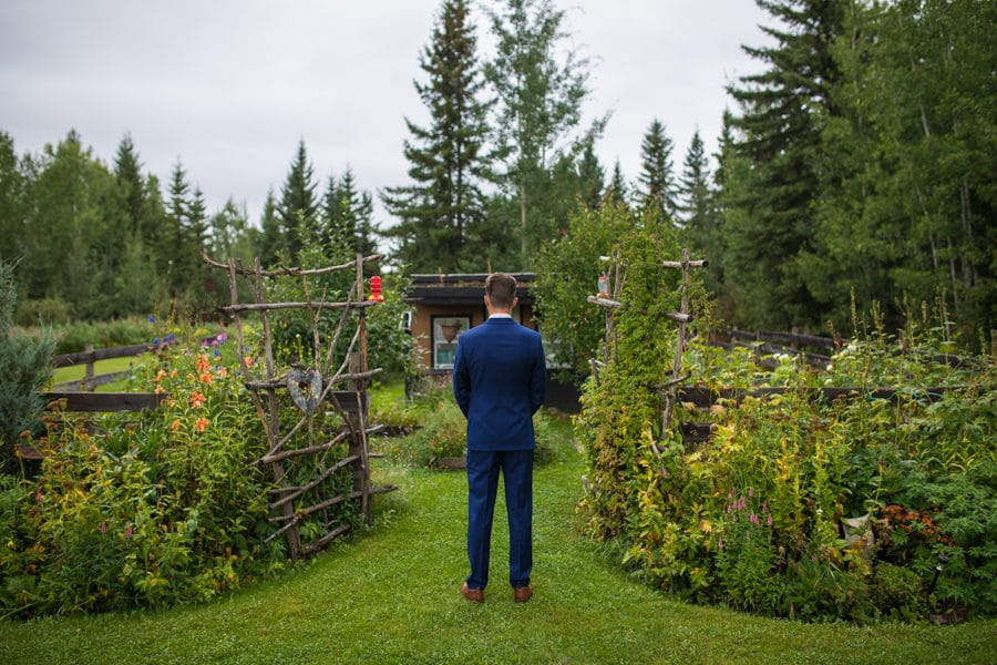 first look at Woodland and Wildflower wedding venue