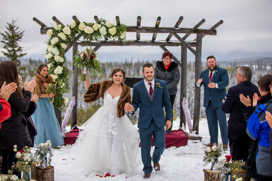 outdoor winter weddings Hinton Alberta
