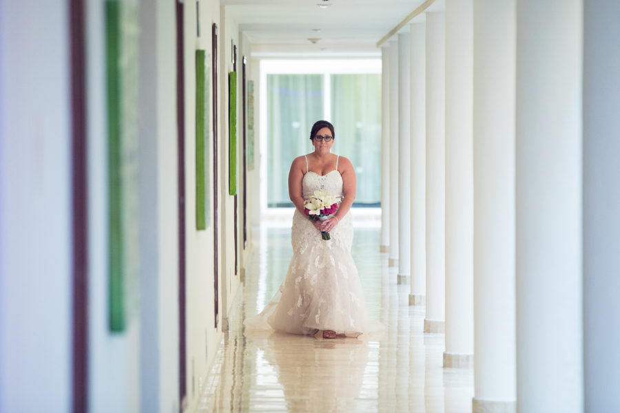 The Grand Palladium Riviera maya resort and spa wedding indoor ceremony
