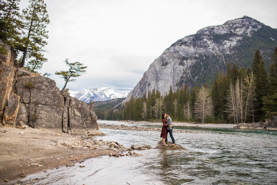 banff alberta engagement
