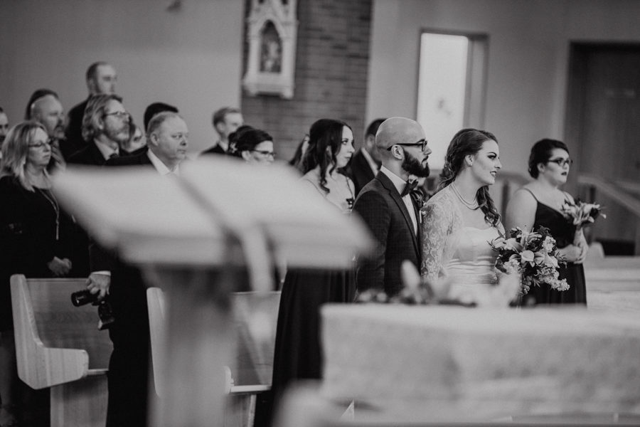wedding photos from St Albert the Great Parish
