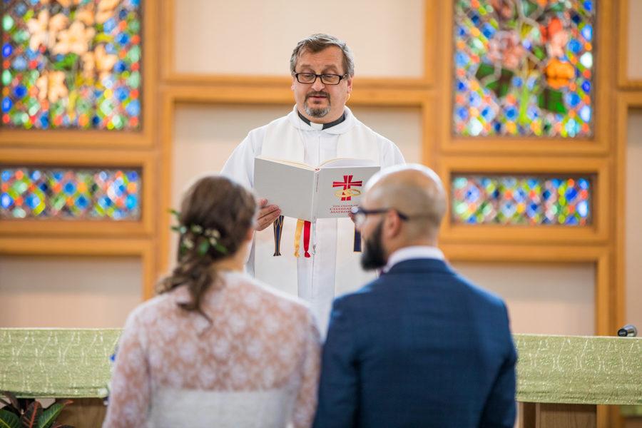 St Albert the Great Parish wedding photos