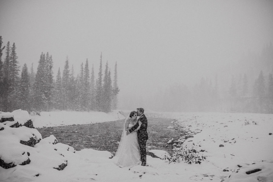 bragg creek winter weddings
