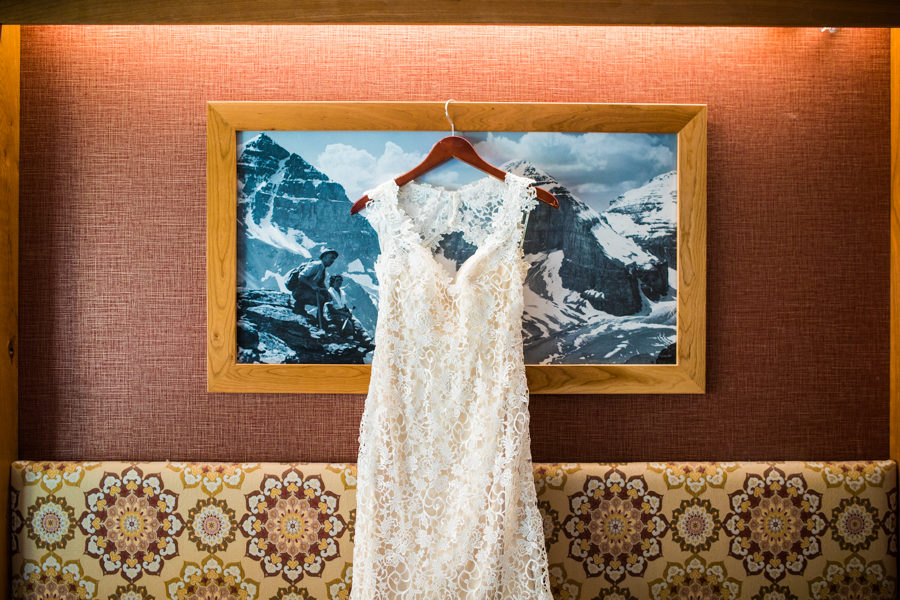 wedding gown banff