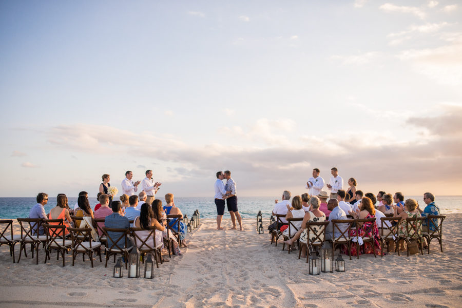 Paradisus los cabos gay wedding