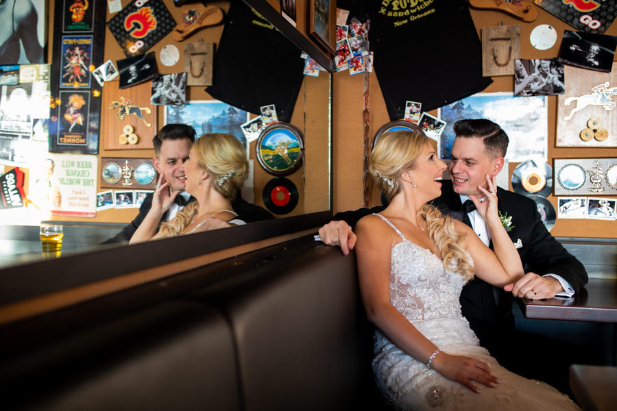 leopold's tavern weddings - leoplod's tavern - calgary tavern weddings