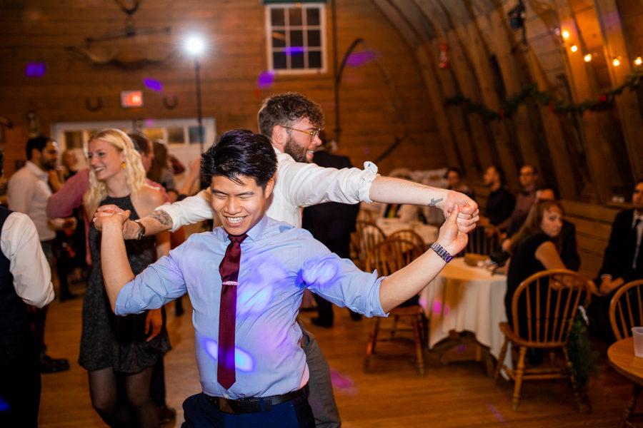 Gunn's Dairy Barn - Calgary wedding photographers