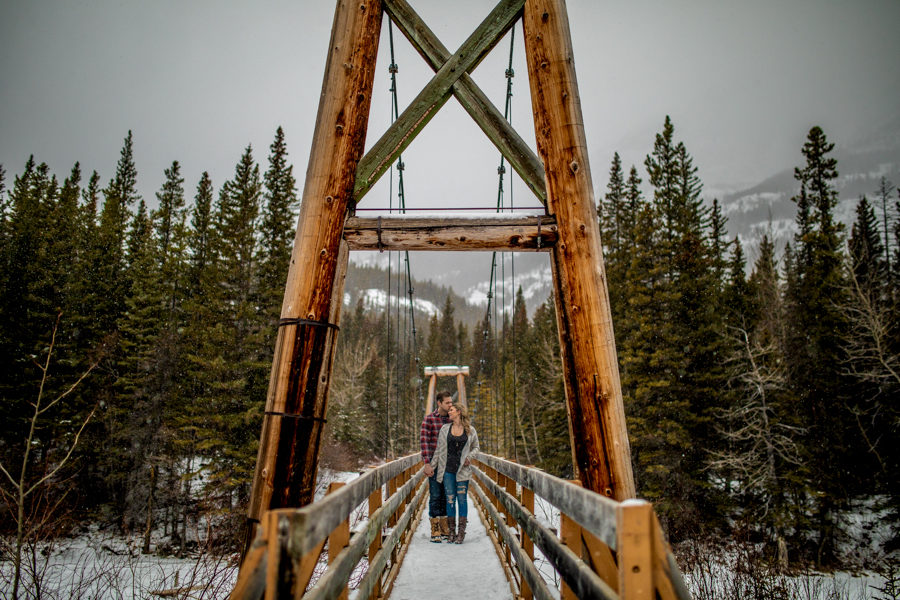 canmore engagement photography - canmore - mountain engagements