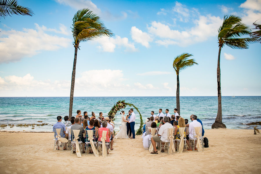 Barcelo Maya caribe - destination wedding - canadian destination wedding photographer - mexico resort photographer