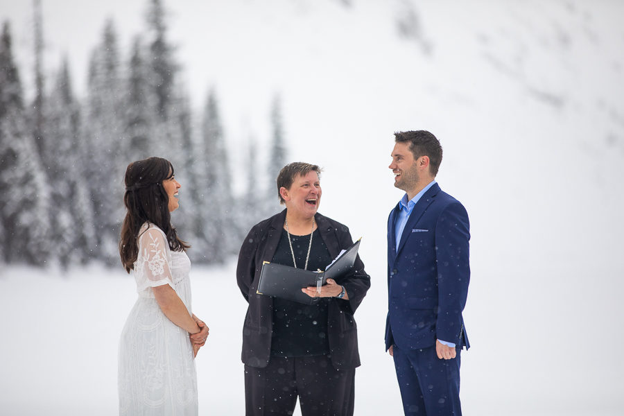 Canmore elopement - Canmore wedding photography - Canmore elopement photographer