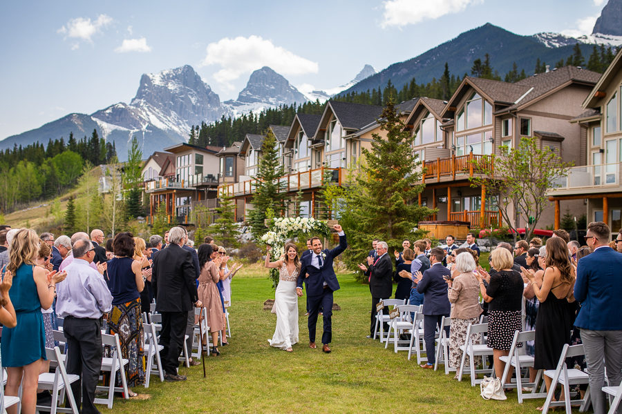outdoor ceremony canmore - cornerstone theatre