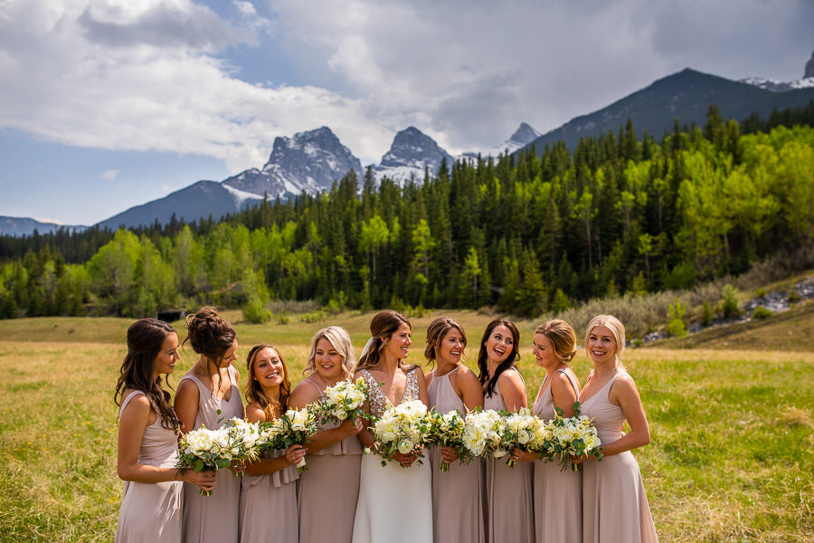 wedding flowers in Canmore