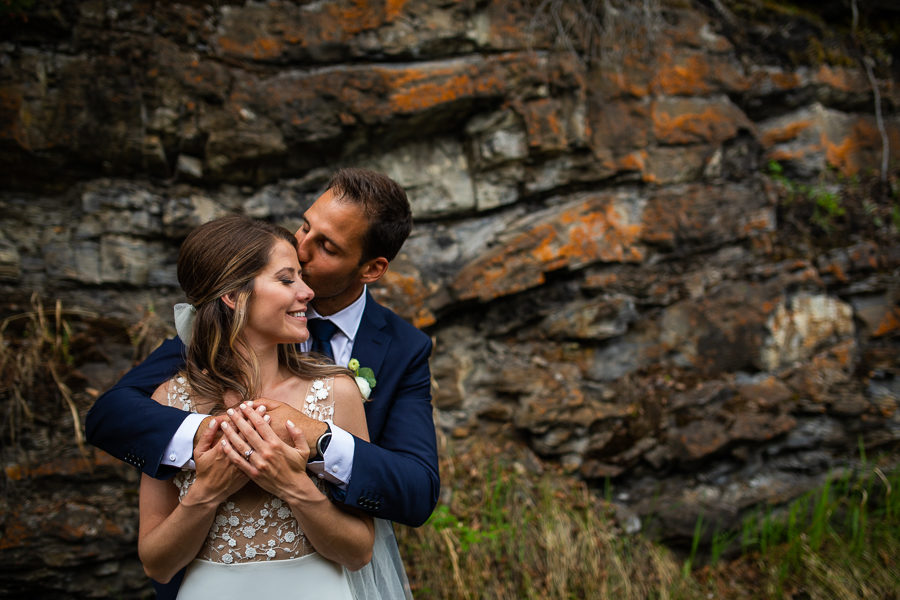 Canmore wedding photographers - canmore wedding -cornerstone theatre wedding
