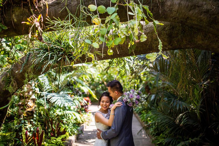 the calgary zoo wedding