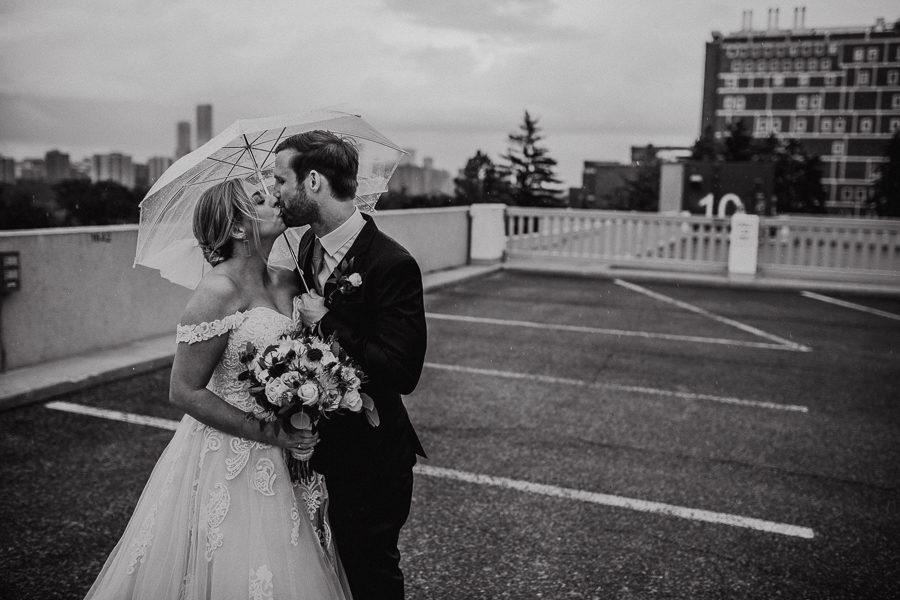 Snow valley wedding - edmonton wedding photographer