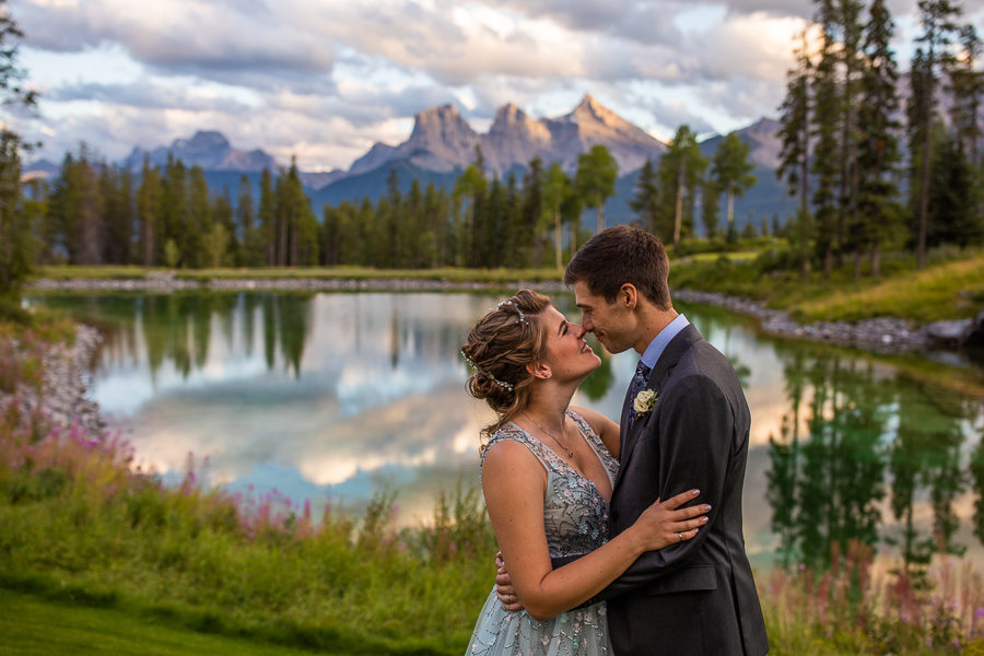 silvertip resort canmore - canmore wedding