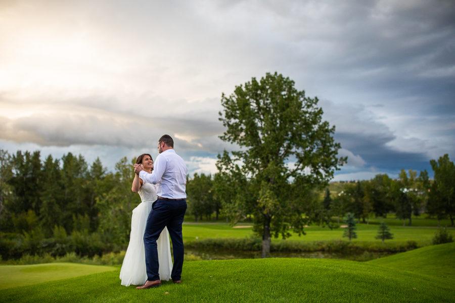valley ridge golf course wedding