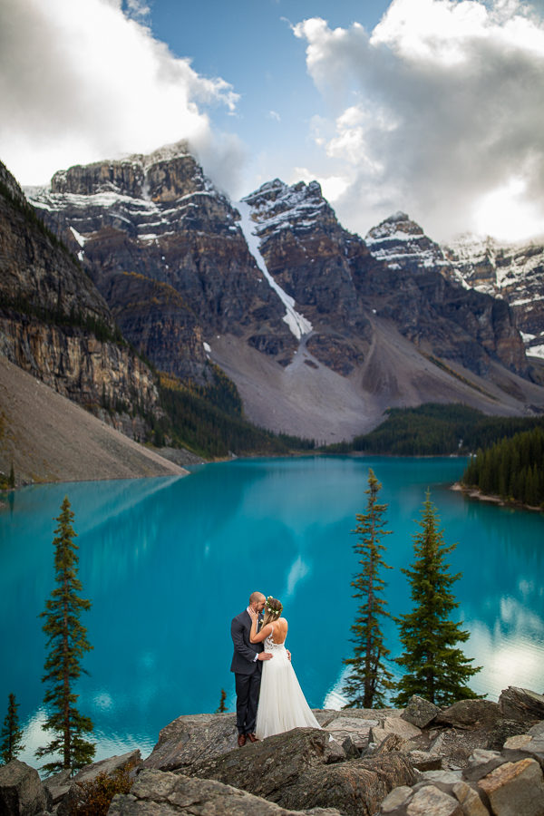 moraine lake elopements