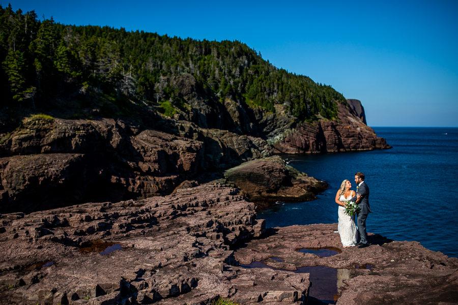 Flatrock wedding photos St. John's Newfoundland