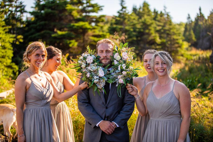 fun newfoundland wedding gphotographers