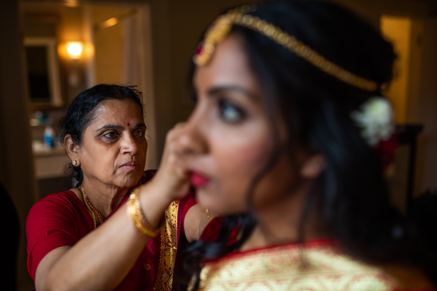Fairmont Banff Springs - Weddings in Banff - Banff Springs weddings hindi bride getting ready