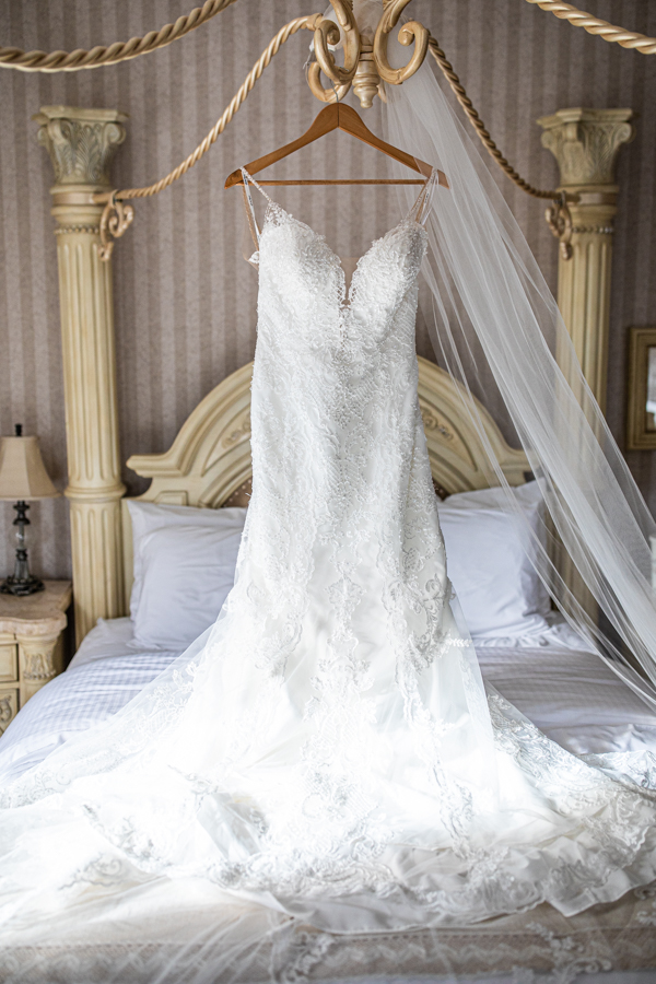 The Norland weddings - The Norland Lethbridge - Lethbridge wedding venue bride dress hanging
