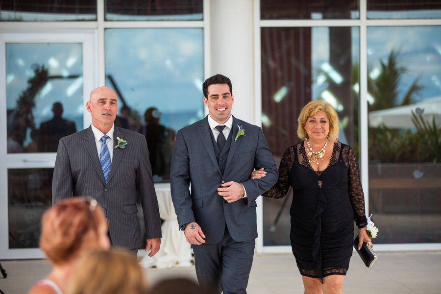 Now wedding location at the Now Jade Cancun