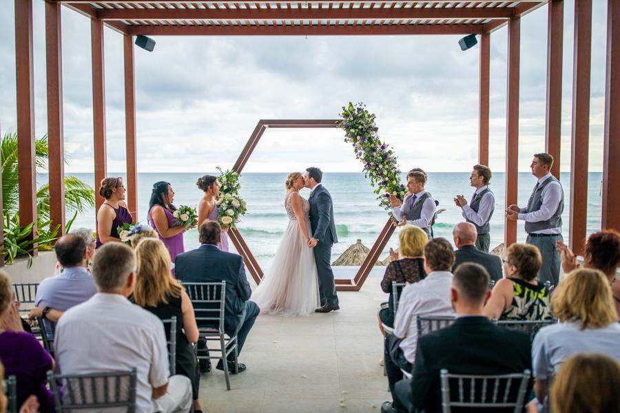 The wedding pavilion Now Jade Mayan Riviera