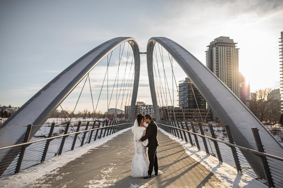 Bank and Baron Wedding - Calgary wedding photographer - Calgary