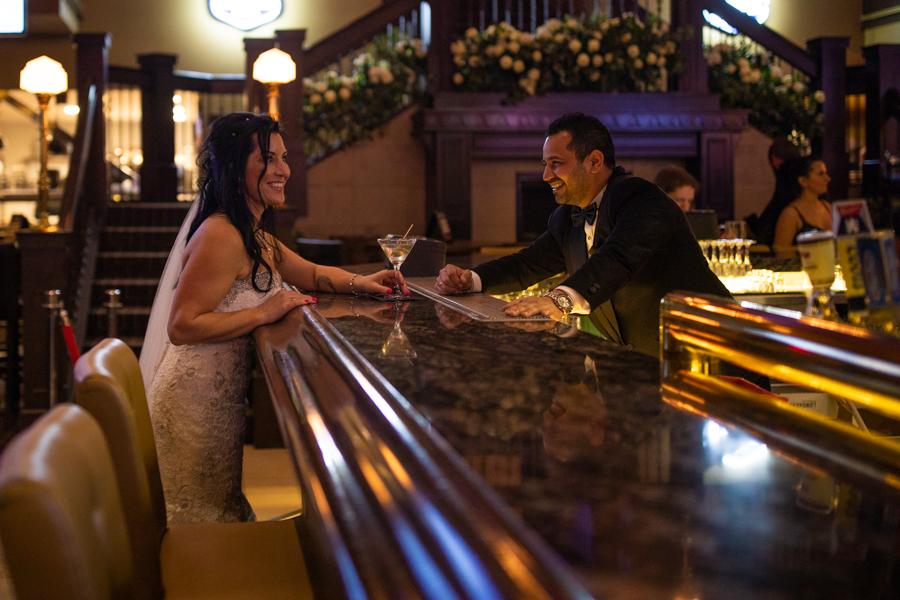 Bank and Baron wedding mom and dad