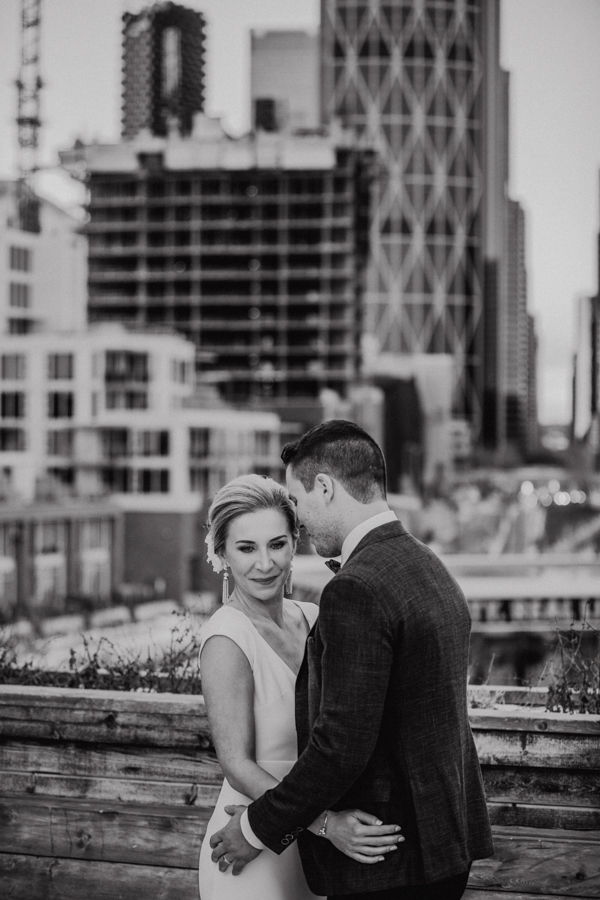 Charbar rooftop wedding photos
