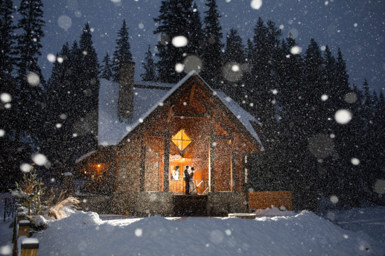 Emerald Lake Wedding - Emerald Lake Lodge wedding - Emerald Lake - weddings at emerald lake - winter wedding at emerald lake lodge