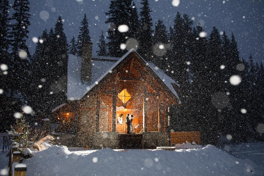 Emerald Lake Wedding - Emerald Lake Lodge wedding - Emerald Lake - weddings at emerald lake - winter wedding at emerald lake lodge